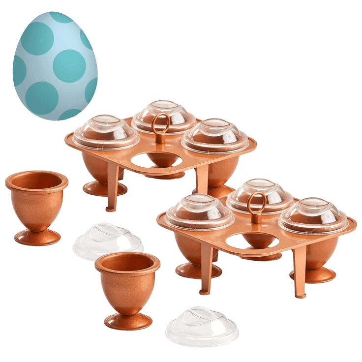 2-Pack Copper Chef XL Egg Cooking Set with Non-Stick Coating