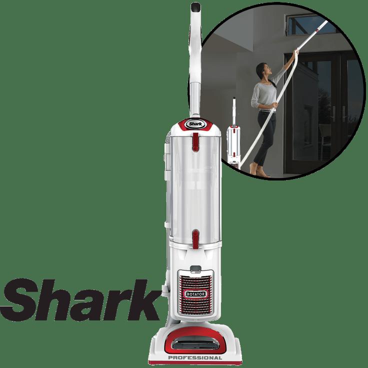 Blue Certified Refurbished Shark Rotator Pro XL Upright Vacuum Used