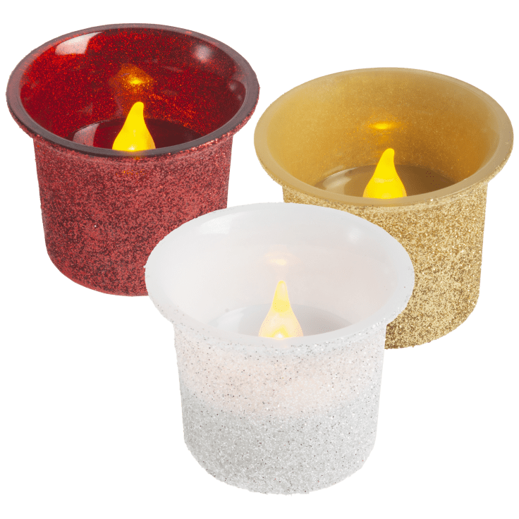 8-Pack Darice LED Votive Candles