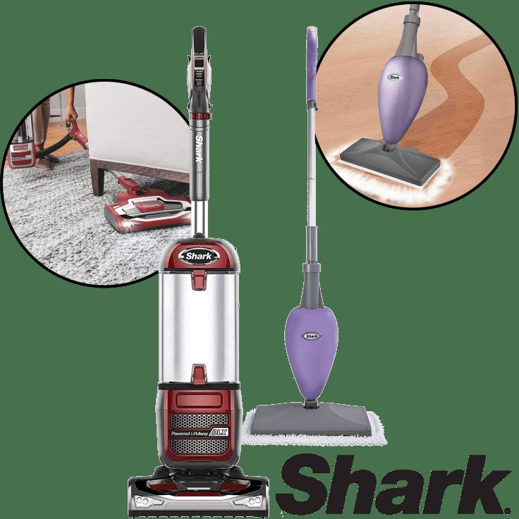 Shark Navigator Powered Lift Away And Steam Mop Bundle