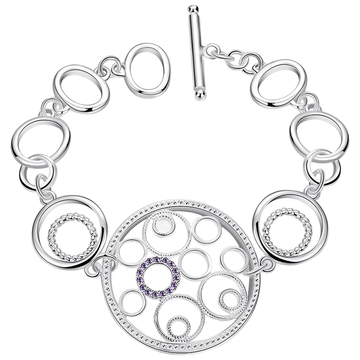 Hollywood Sensation Sterling Silver Bracelet