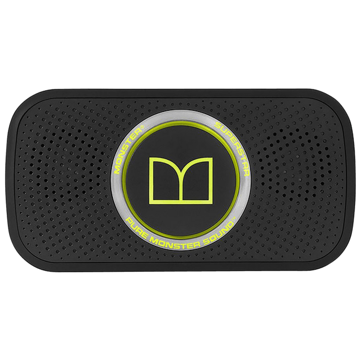 Monster SuperStar High Definition Compact Bluetooth Speaker