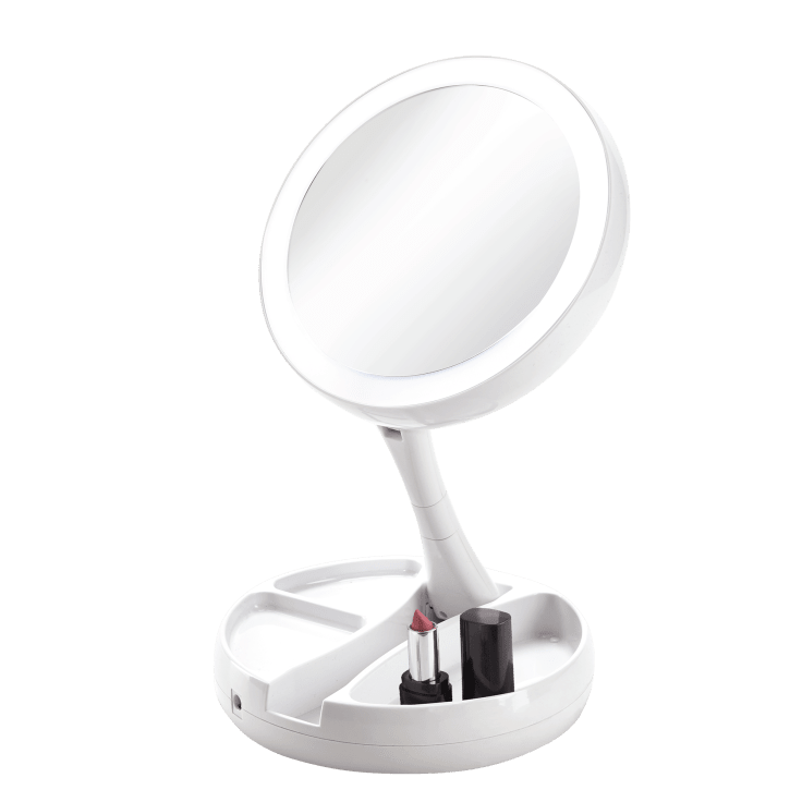 Vivitar Simply Beautiful Fold-Away Double Sided Vanity Mirror