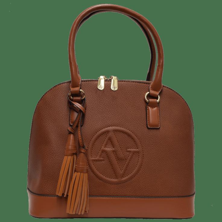 3PC SET Medium Wallet /& Mini Fold Out Wallet Adrienne Vittadini Signature Collection Satchel
