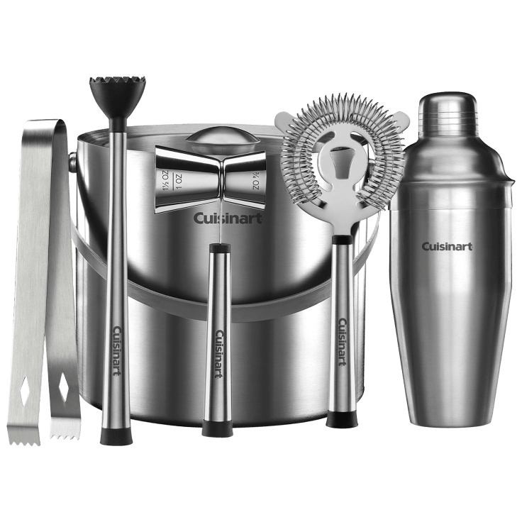 6-Piece Cuisinart Stainless Steel Barware Set
