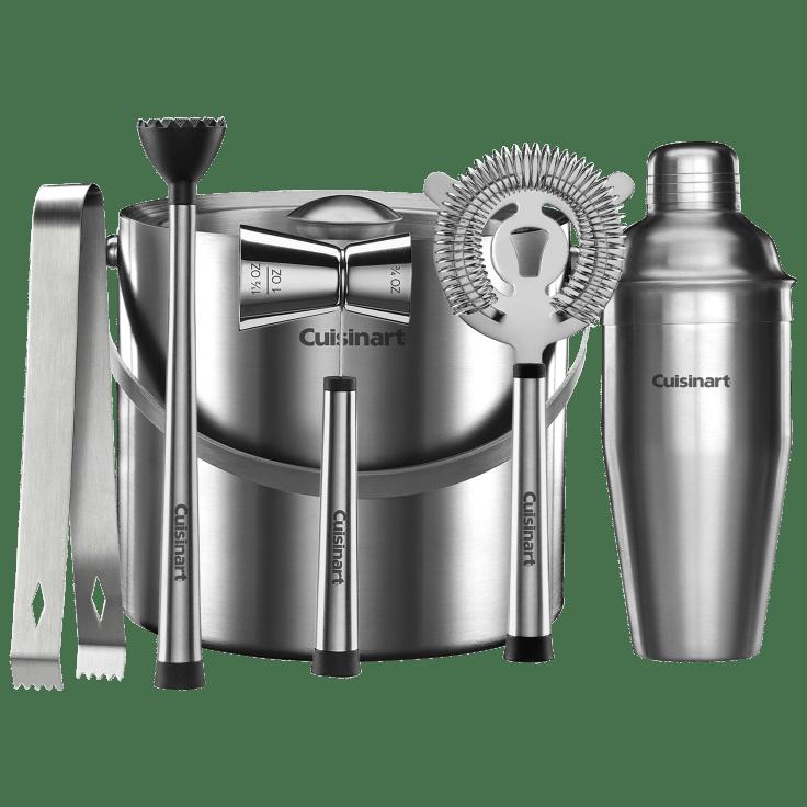 6-Piece Cuisinart Stainless Steel Barware Set