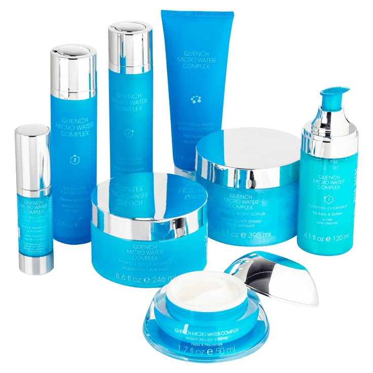 8-Piece Quench Microwater Complex Skin Care Set