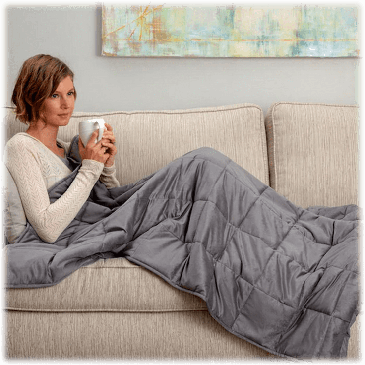 Snuggle Me 15-Lb. Weighted Blanket