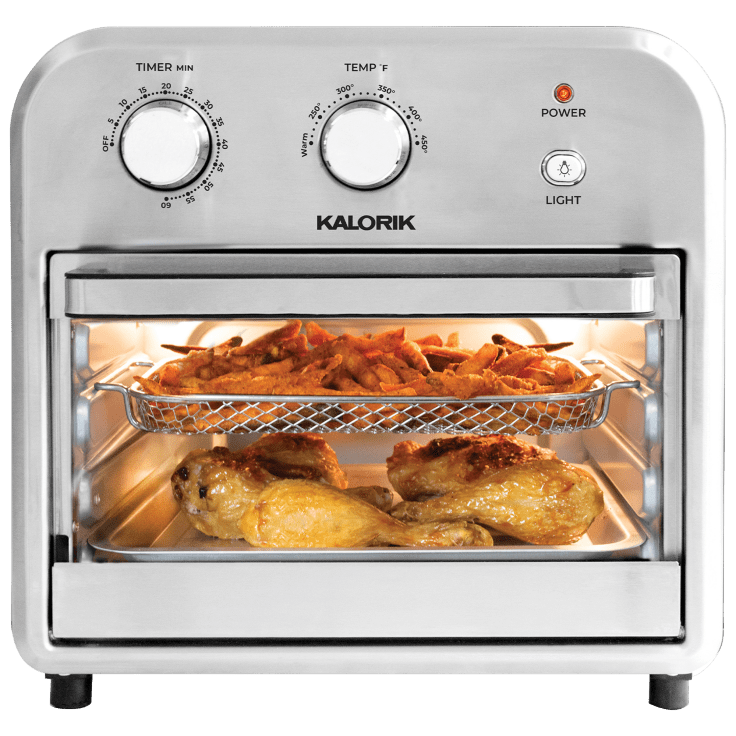 Kalorik 12-Qt Stainless Steel Air Fryer Oven
