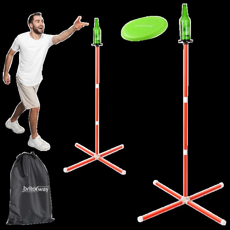 Fun Interactive Backyard Frisbee Toss Game