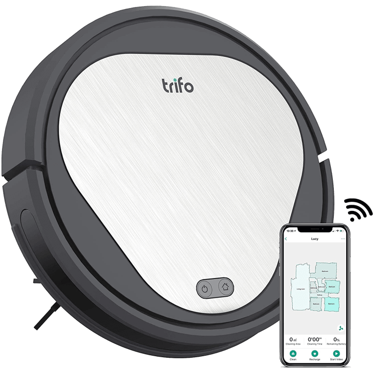 Trifo Multi-Floor Robot Vacuum Cleaner with WiFi & 110-Minute Runtime