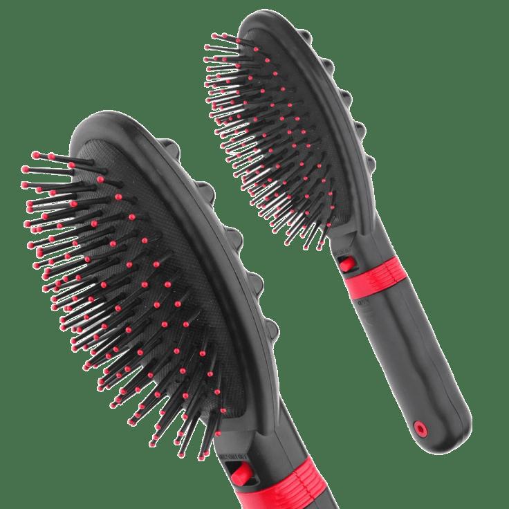 Hairbrush vibrator