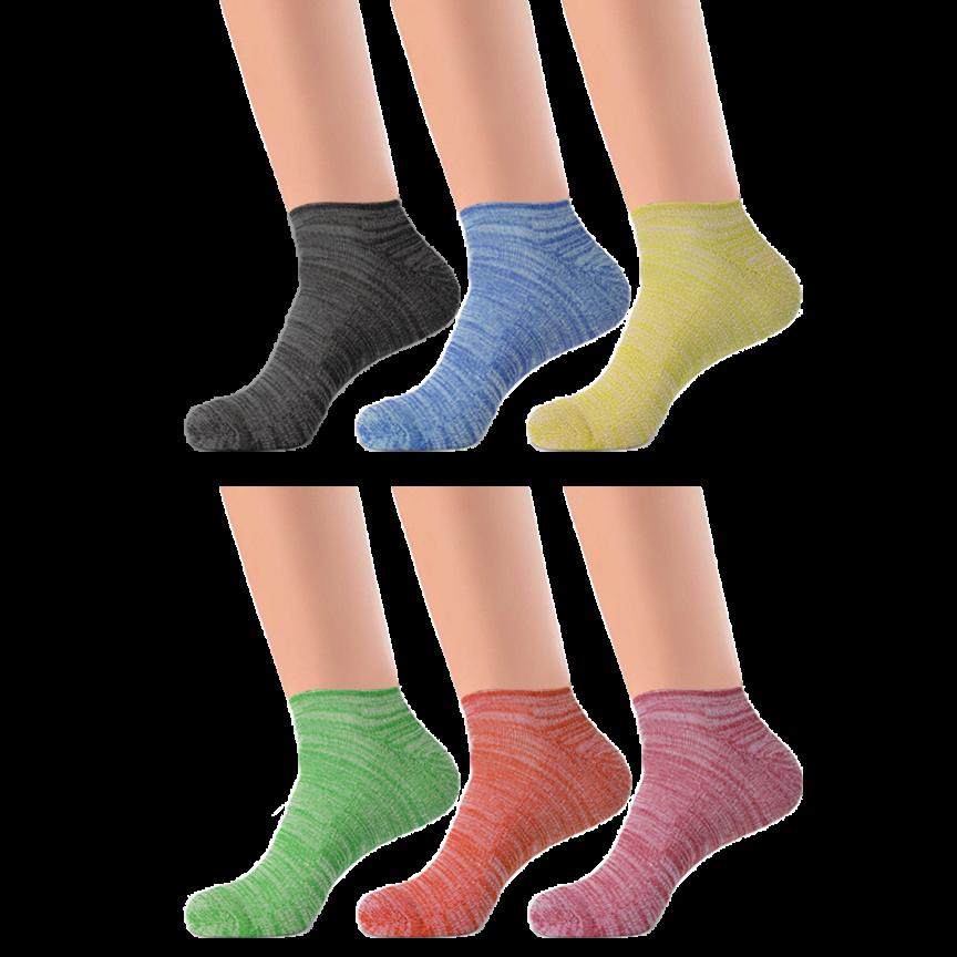 f95e63c3b0 6-Pack: Dri-Fit Performance Cushion Socks