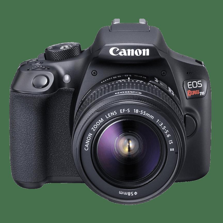 free shipping e7110 2fe00 Canon EOS Rebel T6 18-55mm DSLR Kit