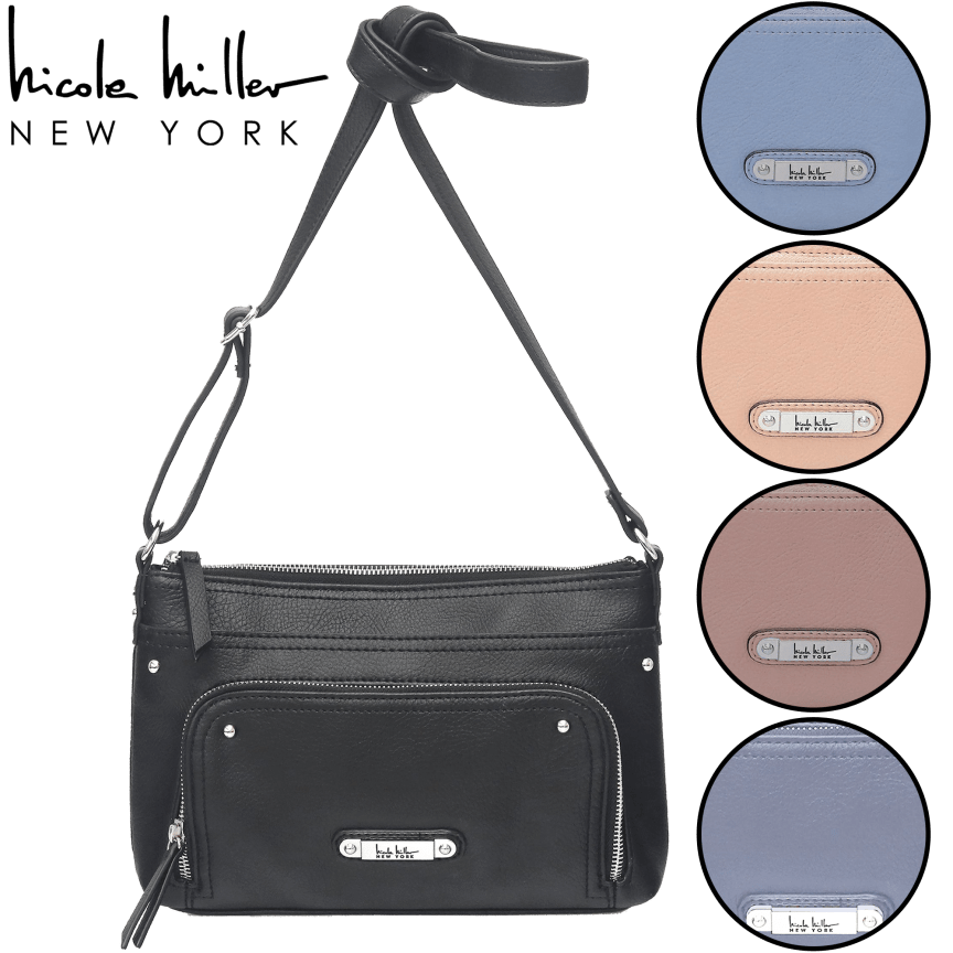 4d6199a052e Cameron Crossbody by Nicole Miller New York
