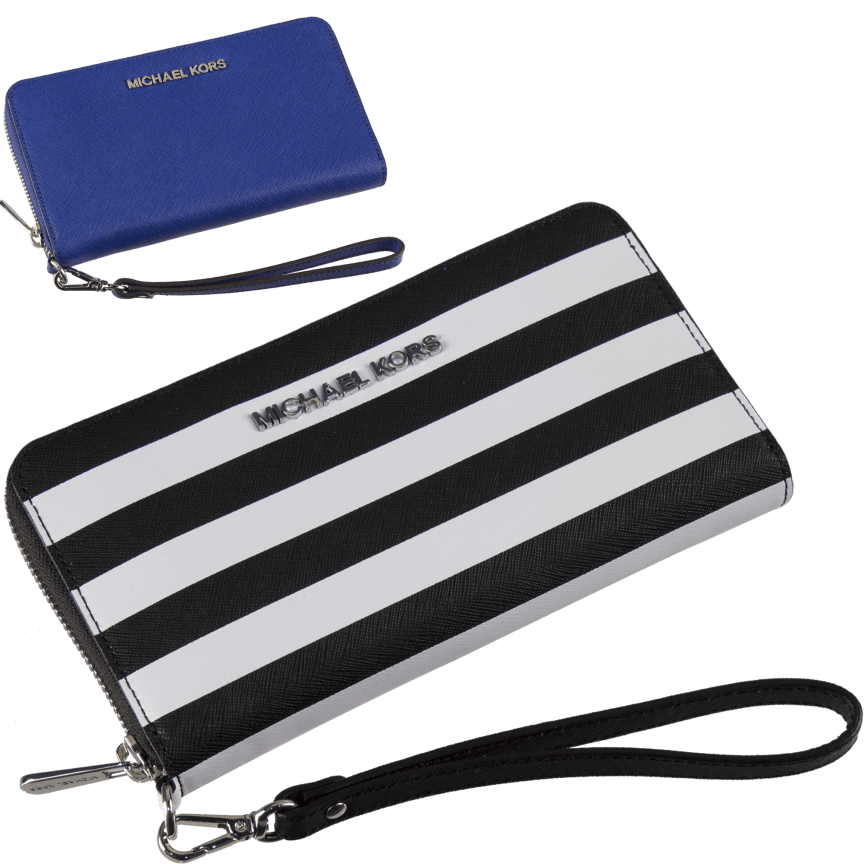 2338556a2292 Michael Kors Essential Large Multifunction Wallet Saffiano