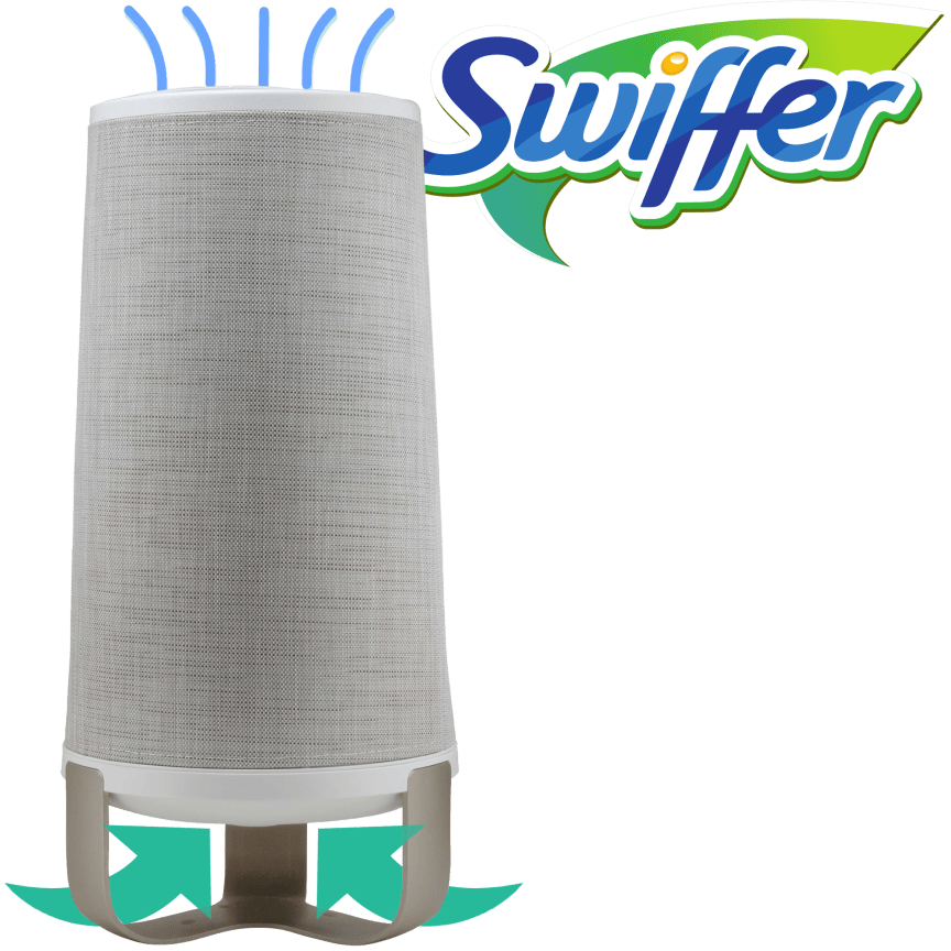 181f18a73ff4 Swiffer Continuous Clean Air Cleaning System with Filters