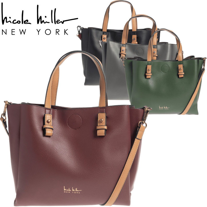 872842d0ac3 Alexa Shopper Tote by Nicole Miller New York