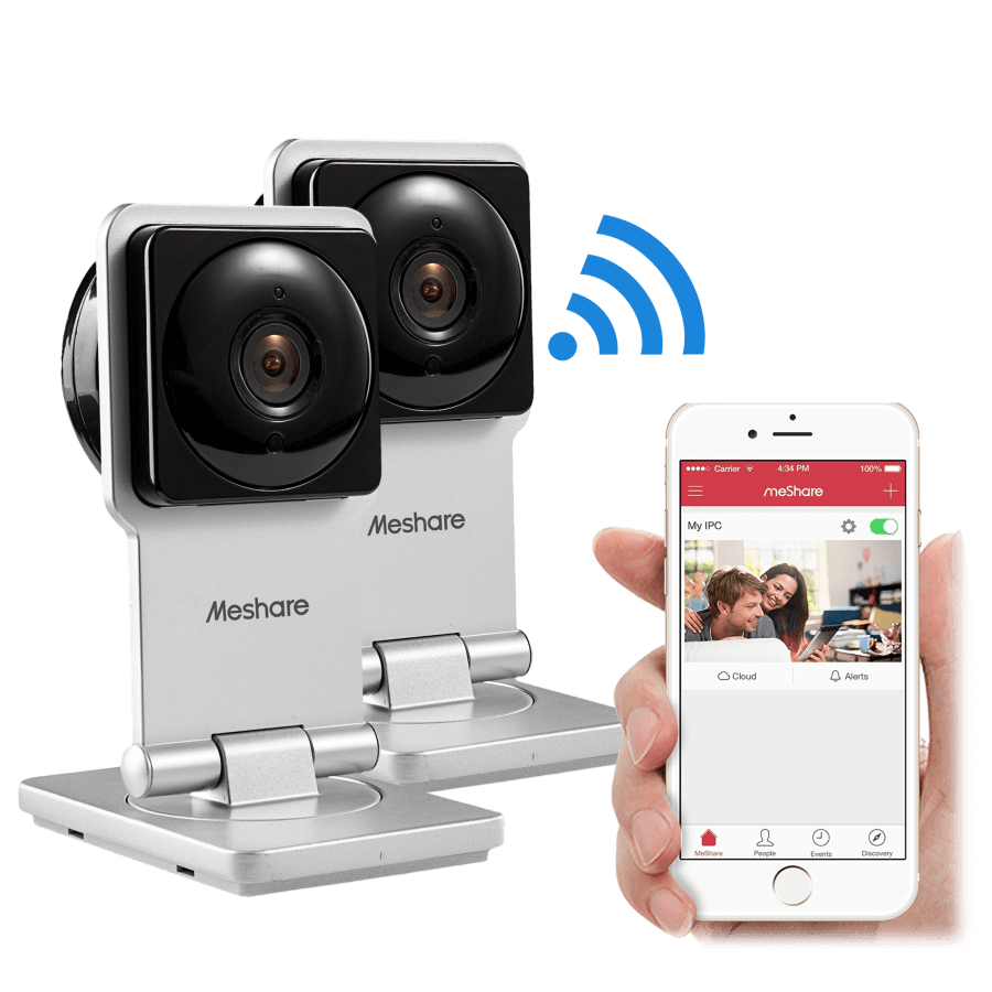 2-for-Tuesday: Zmodo MeShare 720P Wifi Cameras