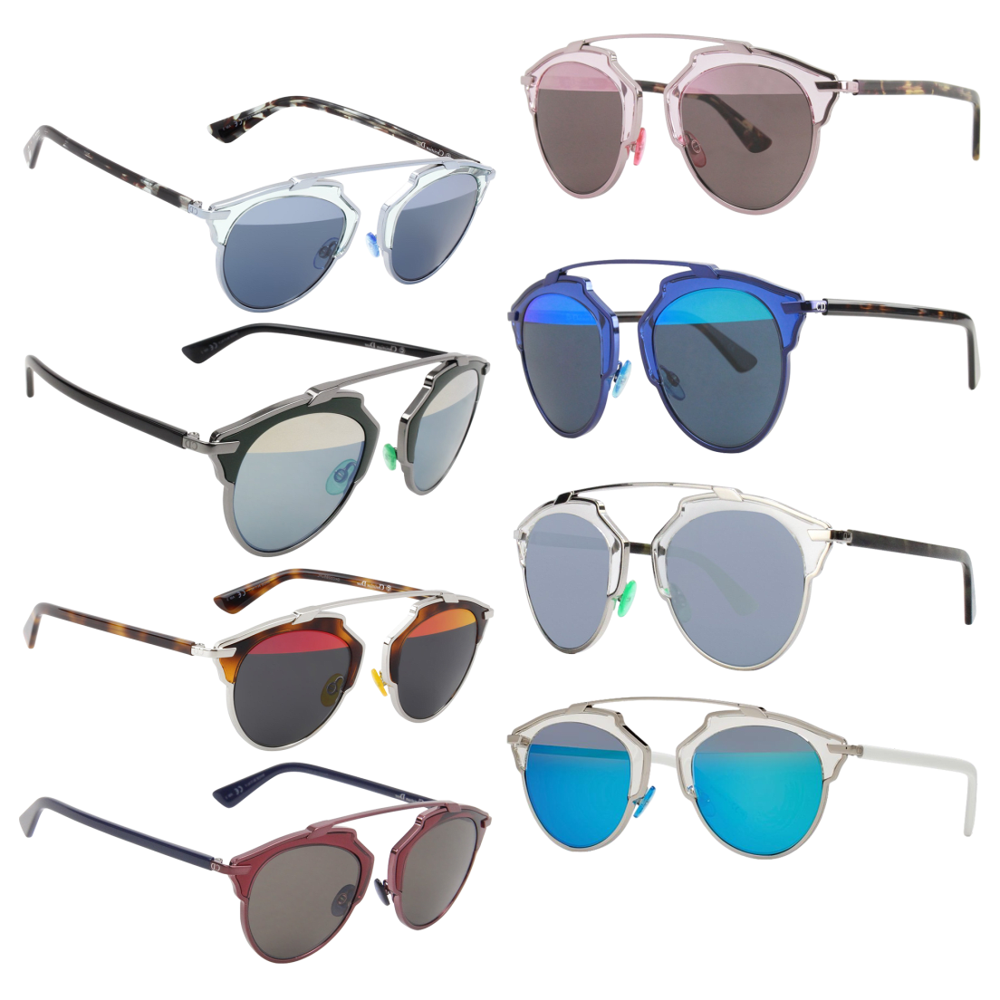 """d30d5051be9 Christian Dior """"So Real"""" Sunglasses"""