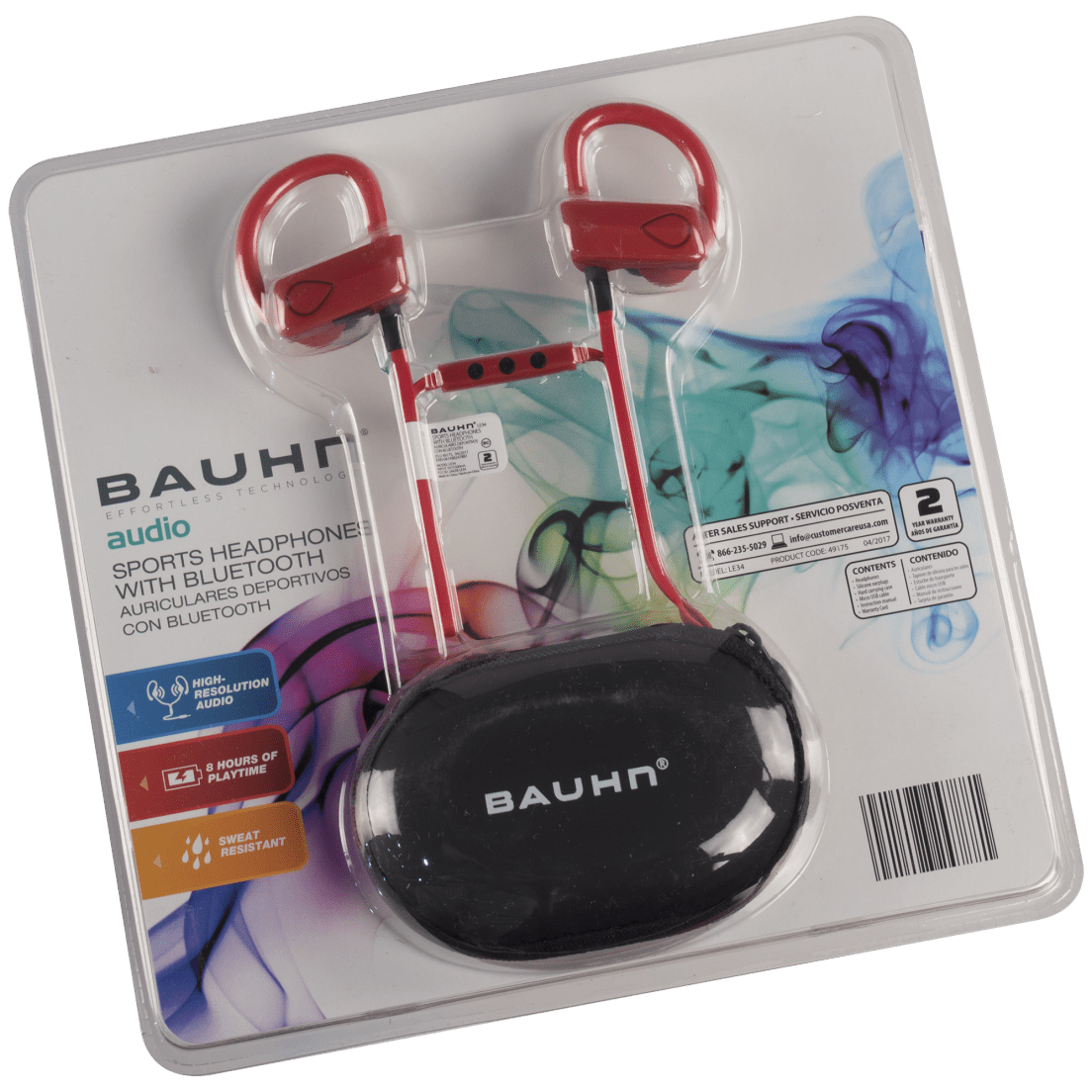fa30b82a0ef Bauhn Wireless Sweat-proof Performance Earbuds with Mic and Storage Case