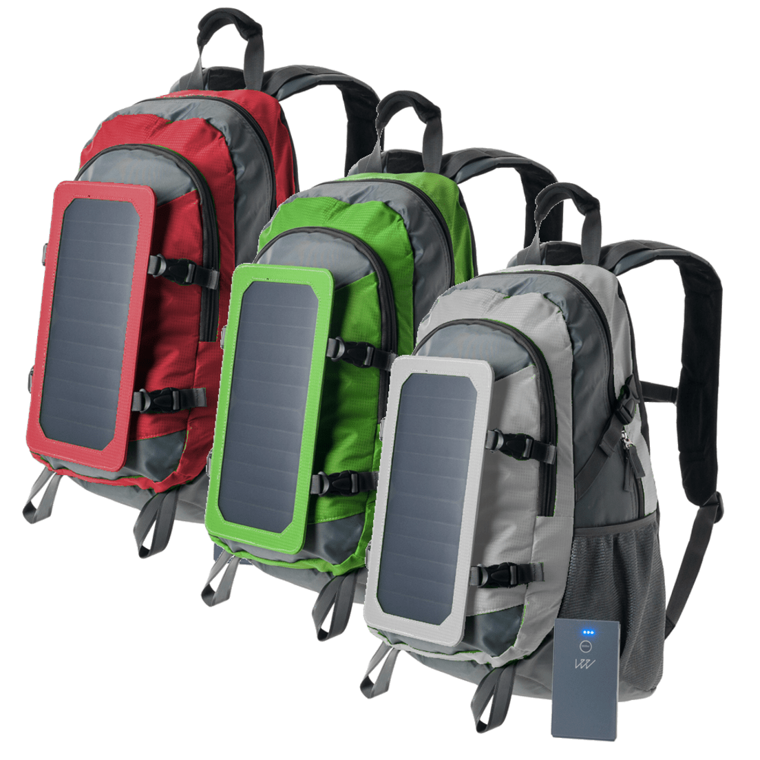 b0d895628576 GatorWire Solar Charging Backpack with 5,000mAh Power Bank