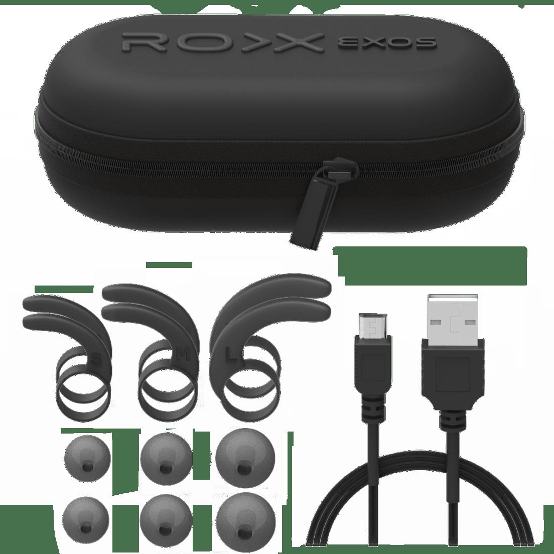 44a9b3c49fc Roxx Gear EXOS Magnetic Bluetooth Earbuds