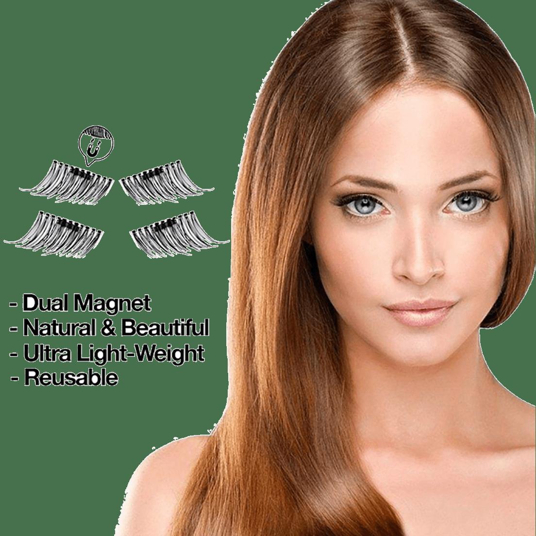 2d327e6a3e7 ProNoir Premium Reusable Magnetic Eyelashes (2 pairs)