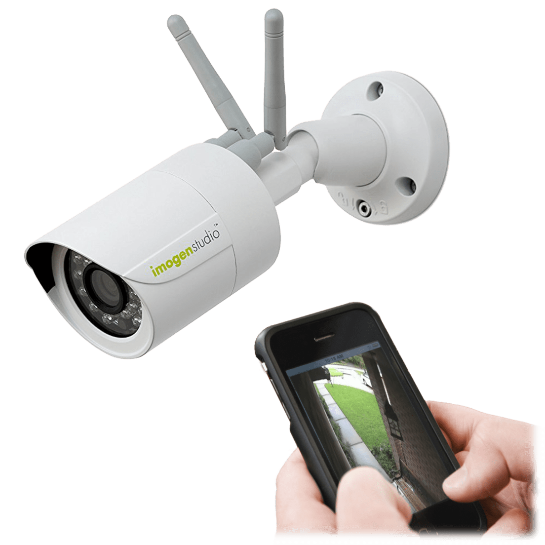ImogenStudio +Cam Outdoor HD Security Camera
