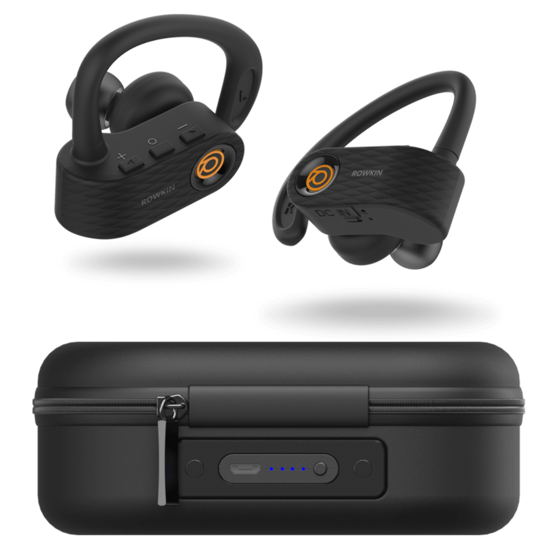 18a8878059e Rowkin Surge Charge True Wireless Bluetooth Sport Earbuds with Charging Case