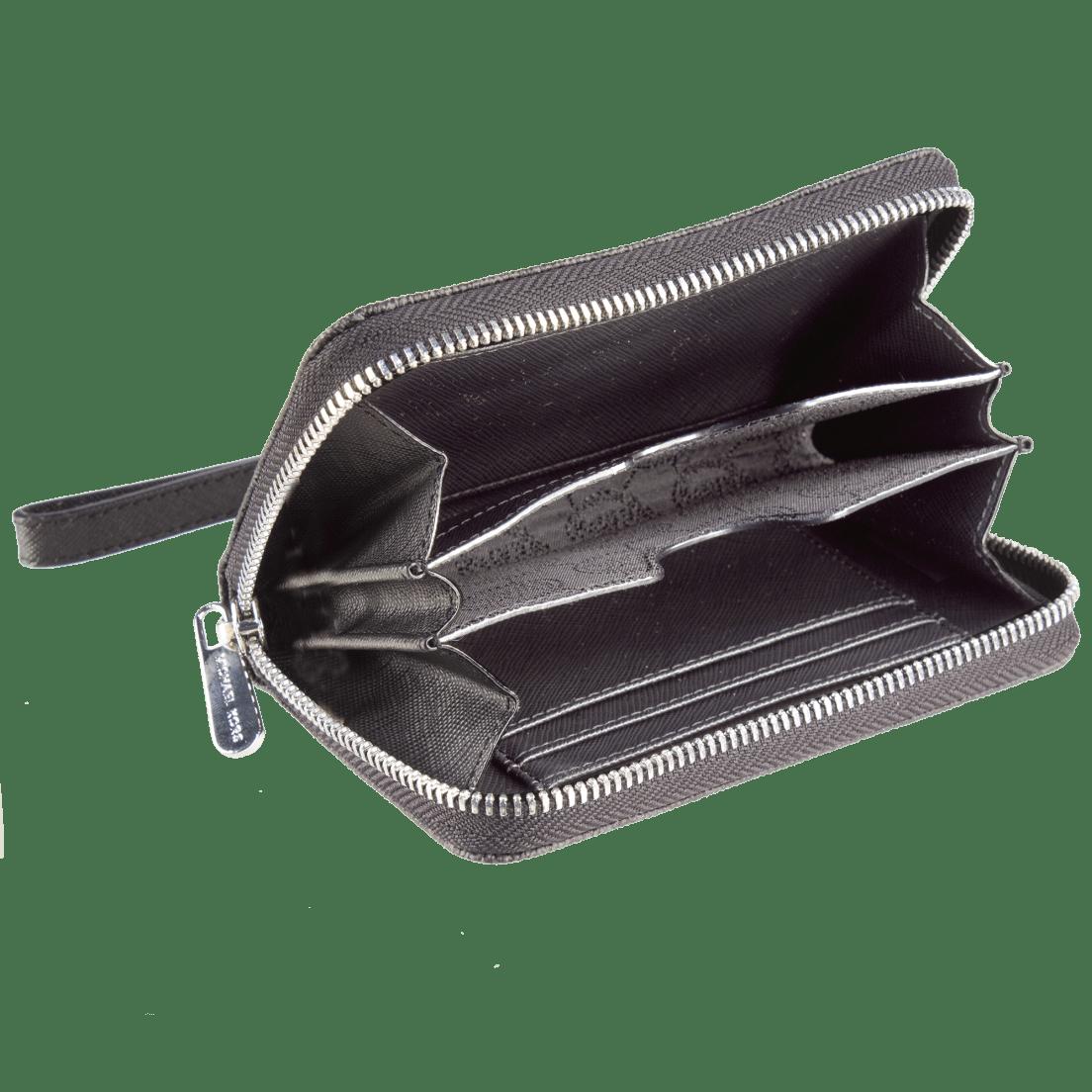 1f7d132924b0 ... Michael Kors Essential Zip Wallet Gray Monogram. Too late
