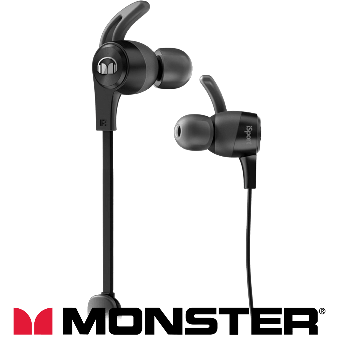 8bb8d1a7204 Monster iSport Sweatproof In-Ear Bluetooth Earbuds (Certified Refurbished)