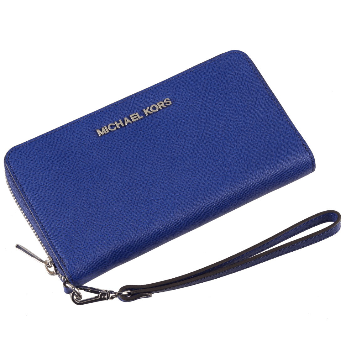 be646f38d0cc Michael Kors Essential Large Multifunction Wallet Sapphire Saffiano