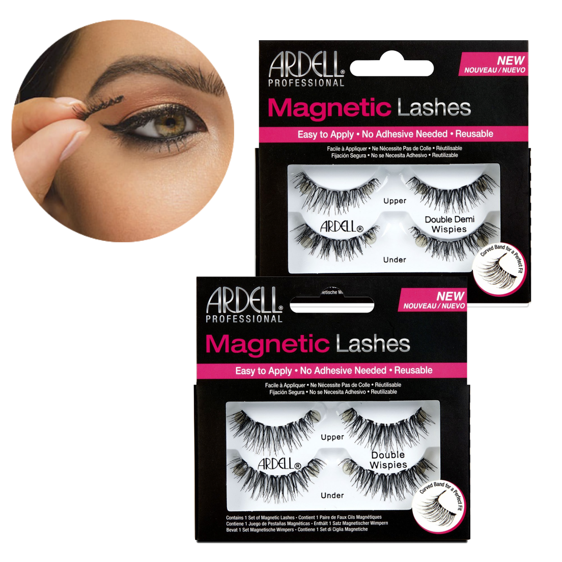 b4d838950ec 2-Pack: Ardell Professional Magnetic Lashes