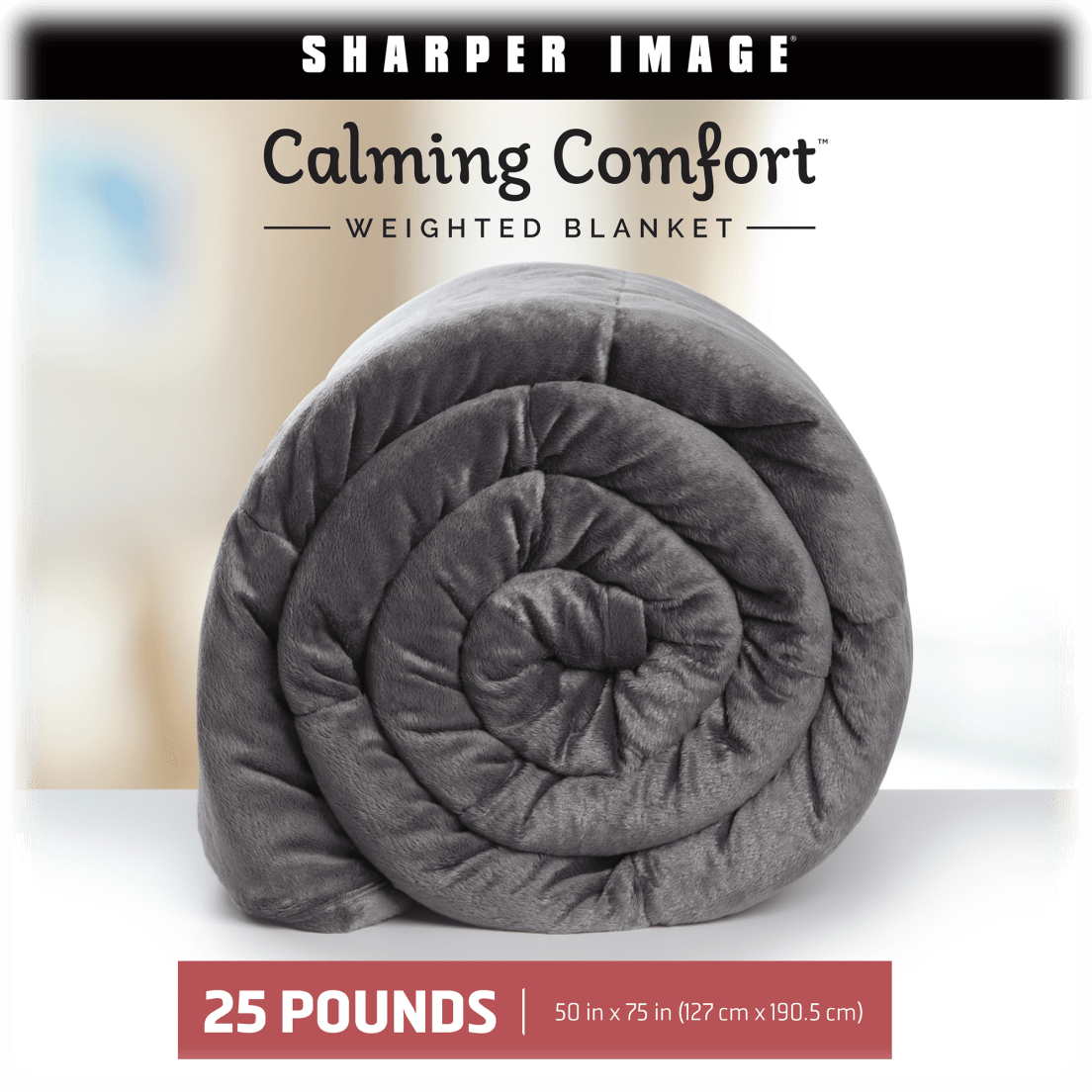 43b49d4c53a Sharper Image Calming Comfort Weighted Blankets - 25 lbs