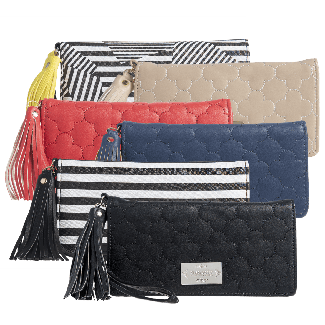 f24ae44d59fc Nanette Lepore Charging Wallet with Tassel