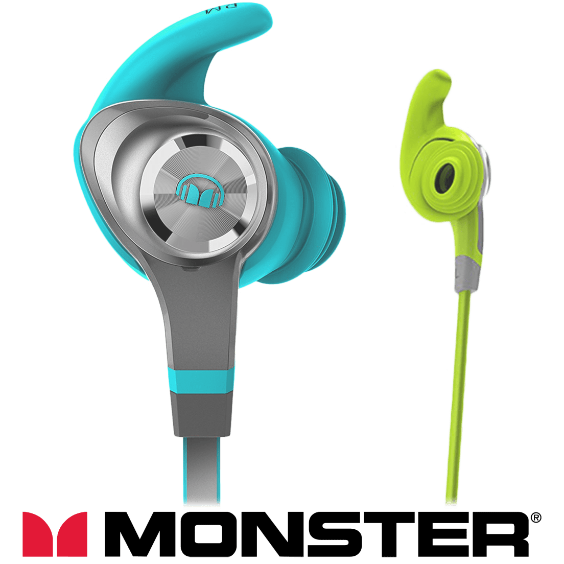68601d80bab Monster iSport Intensity In-Ear Wireless Sports Earbuds (Certified  Refurbished)