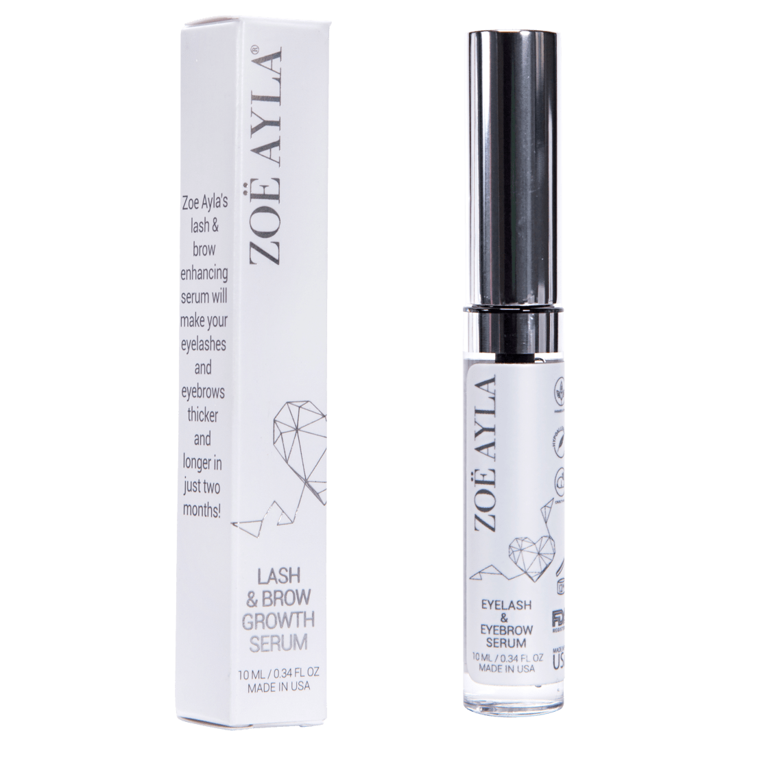 96c17d3b4e8 ... Zoe Ayla Premium Eyelash and Brow Growth Serum. Sold out