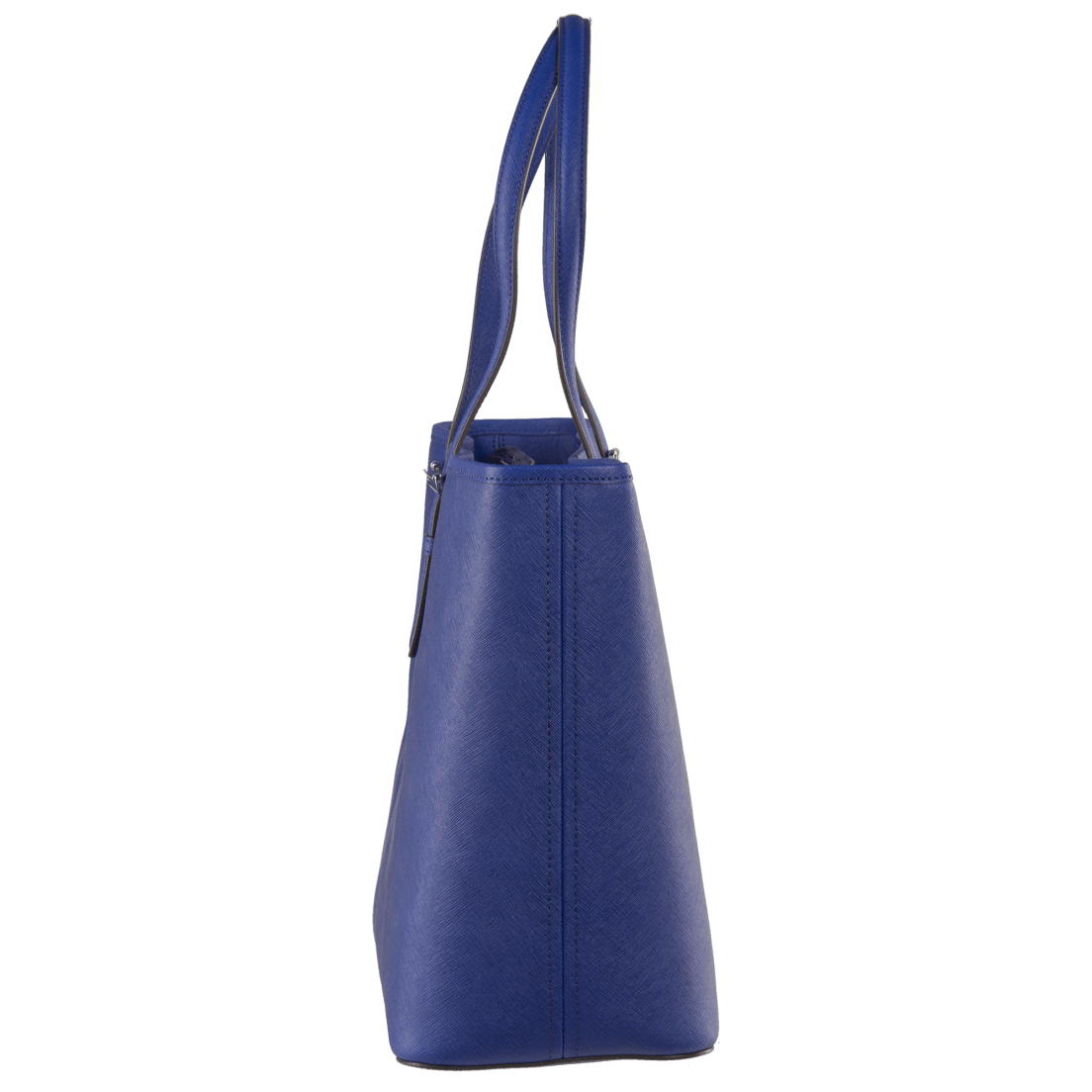 3d408b4c195b Michael Kors Jet Set Travel Medium Saffiano Leather Top-Zip Tote in Blue