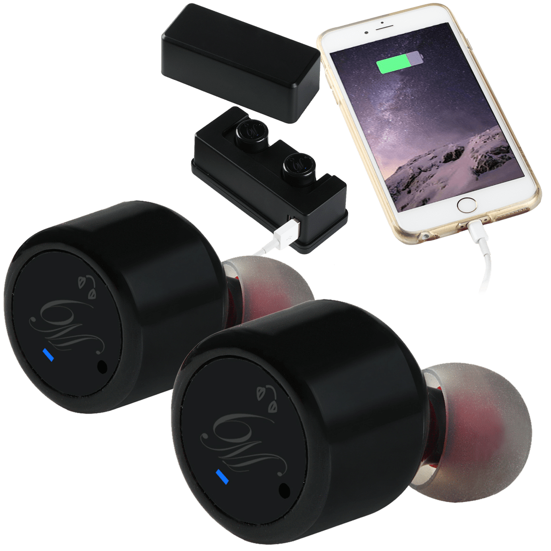 4cc10400ea5 MagicBeatz Pro 6-Hour True Wireless Earbuds and Charging Case