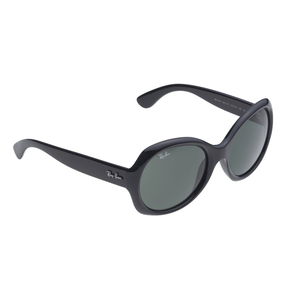 c74b99545 Ray-Ban RB4191 Sunglasses with Black Frame & Green Classic Lenses