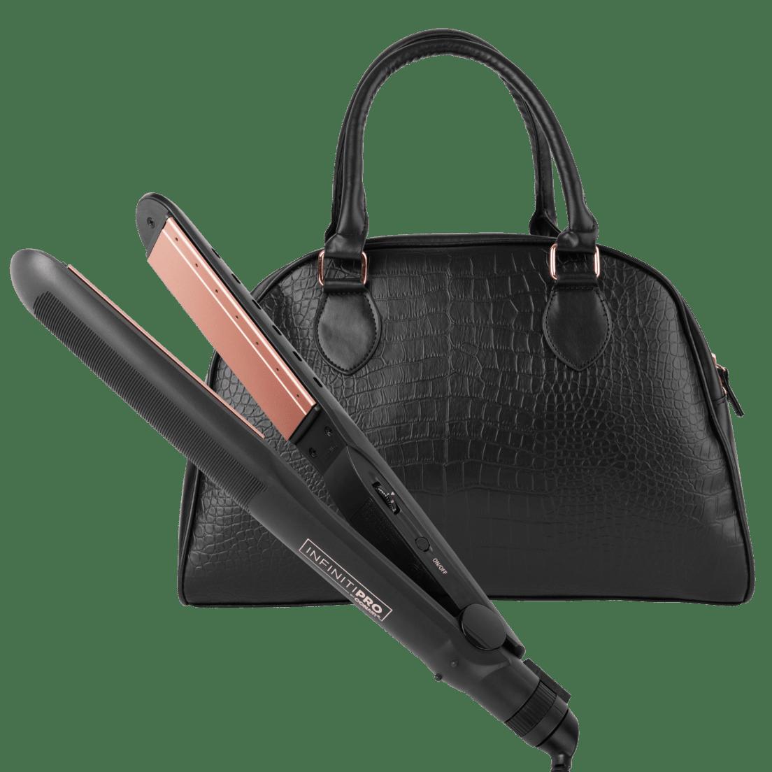 25425e4fa24f Conair High Heat Flat Iron with Premium Overnight Bag