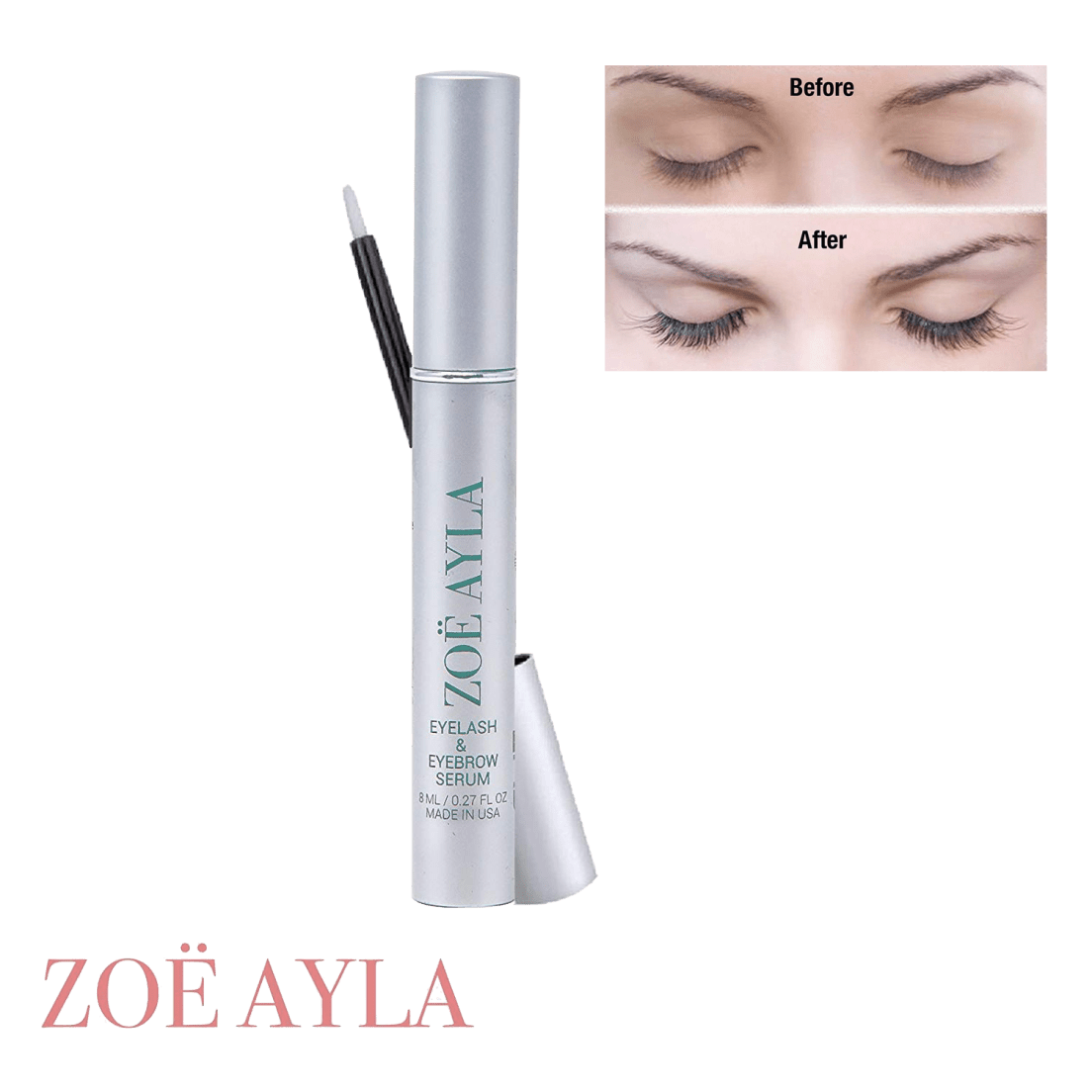 0863fb18b8f Zoe Ayla Lash & Brow Growth Enhancer