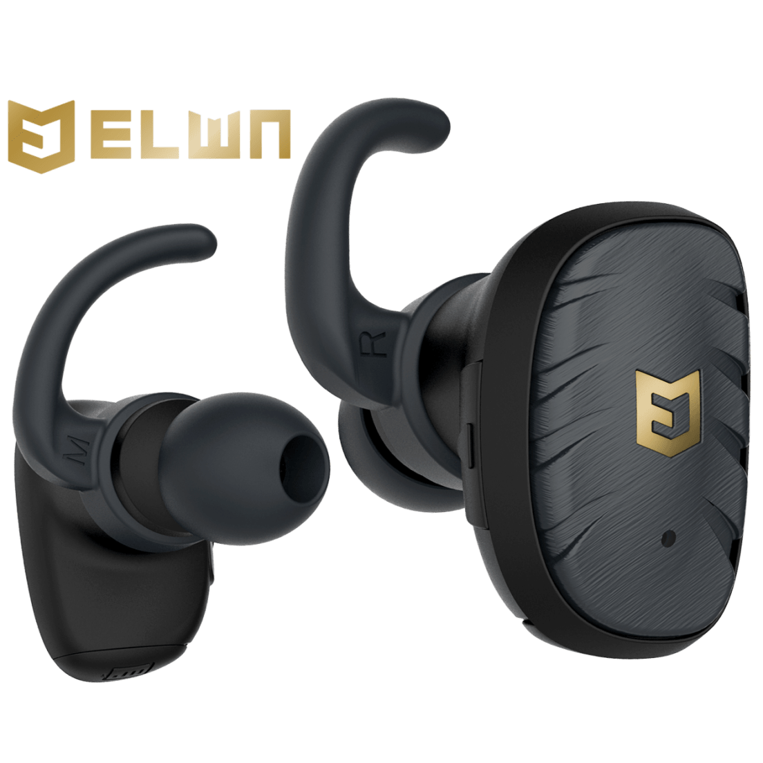 04071e97f77 ELWN Fit True Wireless Bluetooth Sport Earbuds with Infinity Band