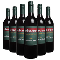 Cheer From Over Here Holiday 6-Bottles Red Wine Blend