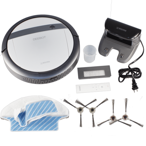 Deebot Ecovac M87 Robotic Vacuum Amp Mopping System With Alexa