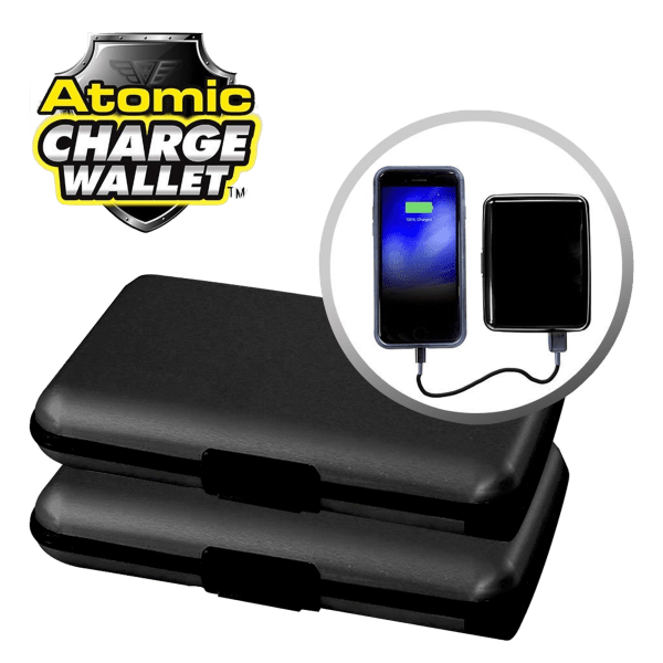 2-for-Tuesday: Atomic Charge RFID Wallets with Powerbank