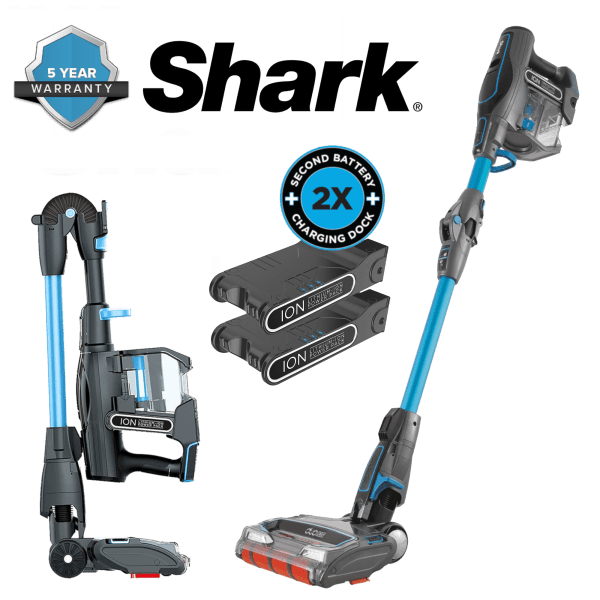 Shark IONFlex 2X DuoClean Cordless Ultra-Light Vacuum with 2 Power Packs