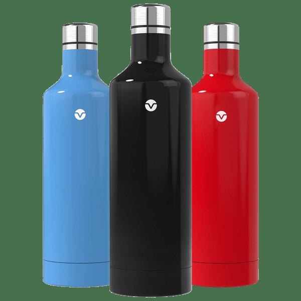 3-Pack: Vremi 16oz Vacuum Sealed Bottles