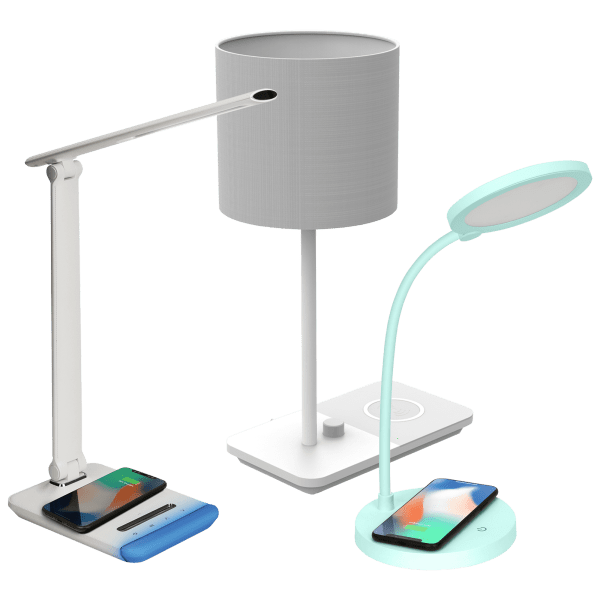 Your Choice of iHome Wireless Charging Lamps